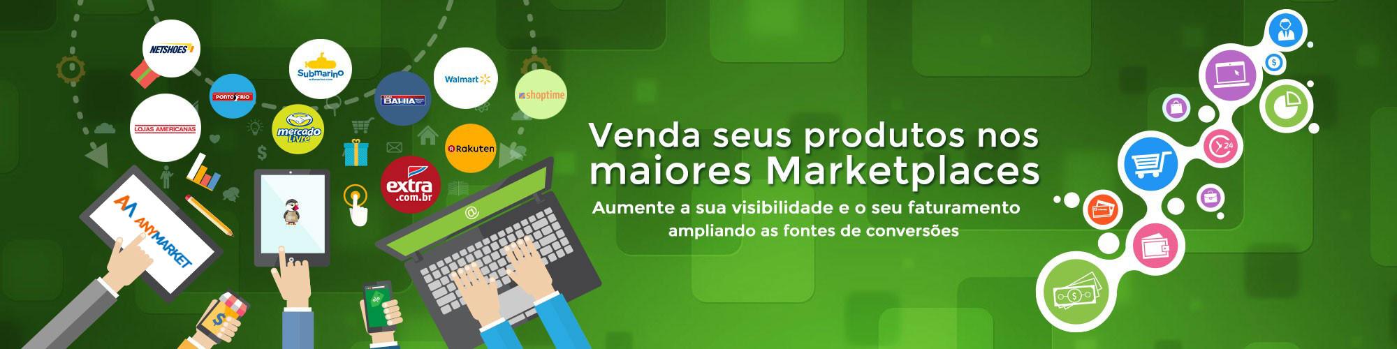 Venda sesus produtos nos maiores Marketplaces